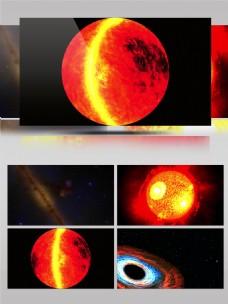 科教片宇宙星空太阳黑子核聚变科研教材