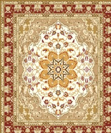 欧式花纹穹顶天顶地毯玻璃图案
