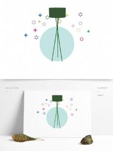 现代简约家居灯具用品图形_画板