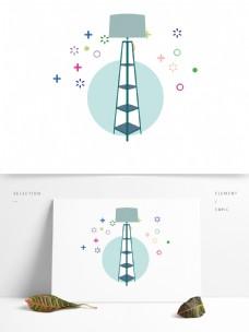 现代简约家居灯具用品图形