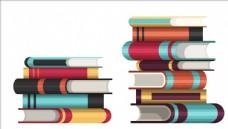 矢量卡通儿童书本书籍