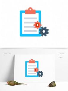 扁平化创意卡通商务办公矢量办公PPT图案