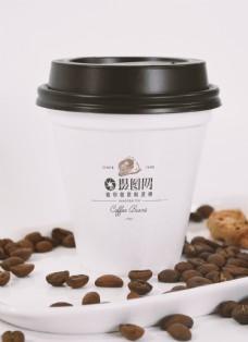 咖啡杯包装设计展示