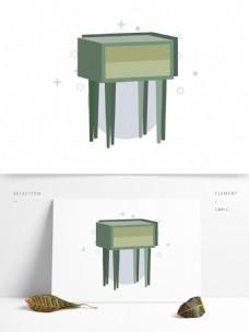 简约卡通家居家具图形元素