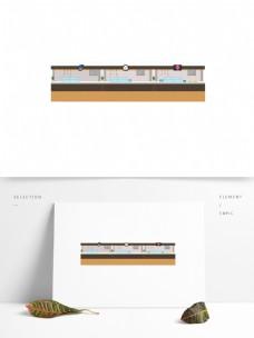 扁平化餐厅设计可商用元素