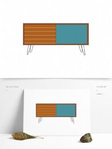 现代简约家具柜子图形元素
