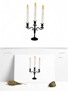 简约家居用品灯具图形元素