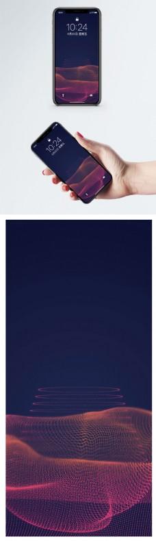 个性线条背景手机壁纸