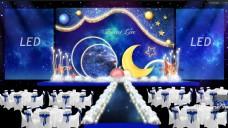 星空婚礼海洋星空效果图