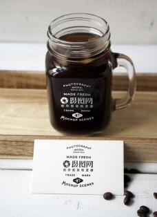 咖啡杯包装展示样机