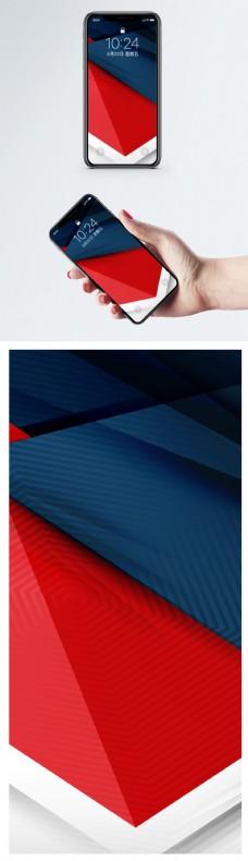 创意几何背景手机壁纸