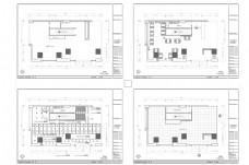 茶餐厅空间CAD平面规划