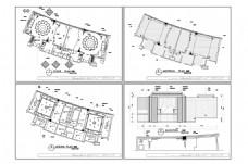 餐饮空间CAD施工图纸