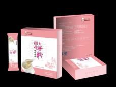 胭脂谷物包装设计