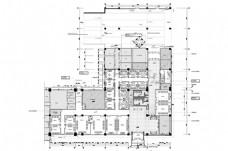 CAD贵宾室空间平面方案规划