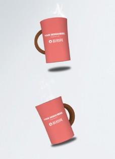 杯子包装样机