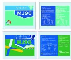韩国纳豆多肽包装设计