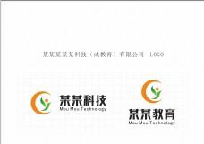 科技教育logo设计