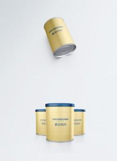 罐子包装样机