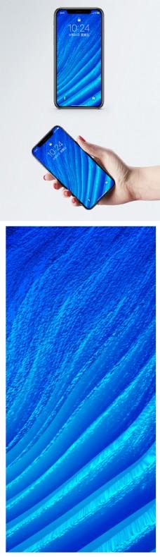 蓝色渐变纹理手机壁纸