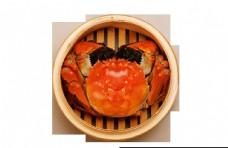 螃蟹河蟹香辣蟹免抠大闸蟹PNG