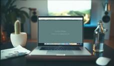 苹果笔记本电脑屏幕样机