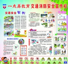 学校安全教育宣传栏