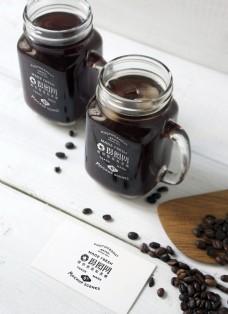咖啡杯包装展示