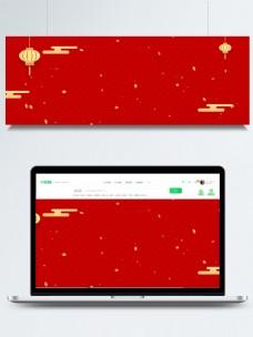 中国风古风喜庆红色背景