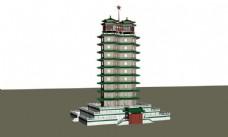 郑州二七塔3d模型