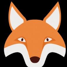 透明底狐狸