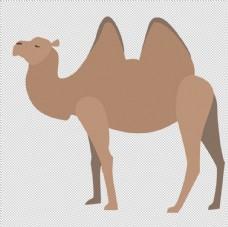 透明底骆驼