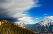 壮丽的大山风景