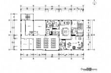 现代办公空间平面布置图