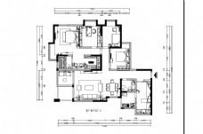 欧式风格两室标准平层