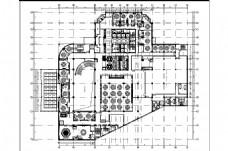 某酒店2层平面布置图
