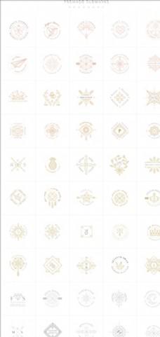 极简几何装饰线条