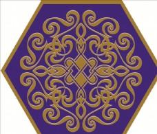 蒙古图案 蒙古元素 蒙古边框