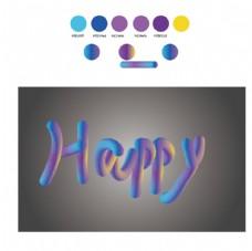 毛絨的字體創意