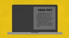 扁平化电脑手机ipad商品图片展示
