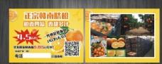 水果宣传单