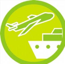 绿色圆形图标