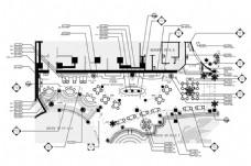 西餐厅CAD施工图纸