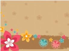 矢量花朵EPS分层