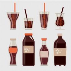 碳酸軟飲料圖標