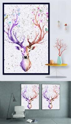 壁纸装饰画设计模板
