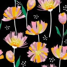 植物印花图案
