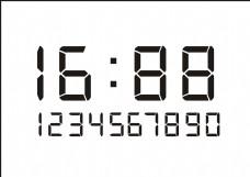 液晶显示数字