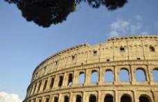 罗马斗兽场局部建筑