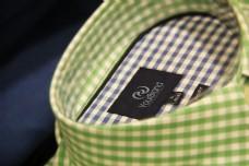 衬衫背标样机素材